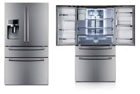 Kitchenaid Counter Depth French Door Refrigerator Stainless Steel - samsung rf4287 french door refrigerator review intended for