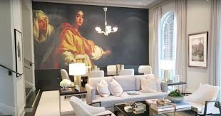 interior design inspiration eva designs interior design home in 2015 brian gluckstein spearheaded the design for the princess margaret showhome and my favorite part was the large mural in the dining room that took up