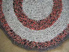 Handmade Rag Rugs For Sale Aqua Blue And Pink Handmade Rag Rug For Etsy By Gettysburgrugroom