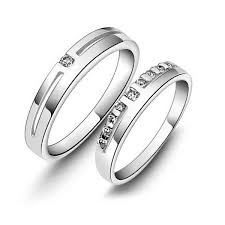 couple rings silver images Online swarovski couple rings buy sterling silver couple bands jpg