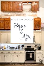what paint to use on oak cabinets kitchen cabinets in alabaster painted by payne diy
