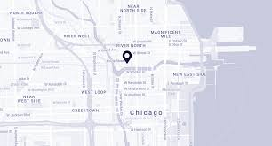 Map Chicago Il by Spring Days 2017