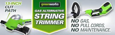 target black friday trimmer deals greenworks g max 40v cordless strng target