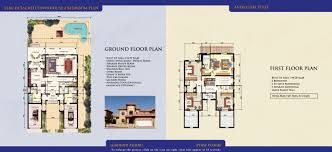 Semi Detached Floor Plans by Downloads For Falcon City Of Wonders Dubai