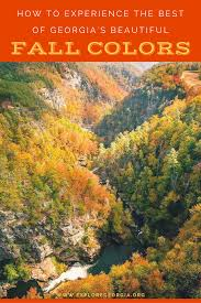 Autumn Colors How To Experience The Best Of Georgia U0027s Beautiful Fall Colors