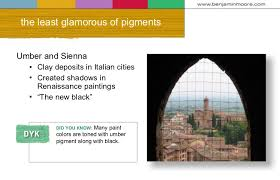 origins of color and pigments june 2007