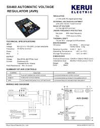sell generator parts sx460 automatic voltage regulator avr in