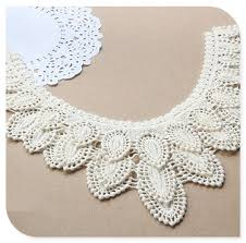lace collar necklace images Embroidered crochet lace collar patterns for dresses buy crochet jpg