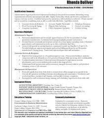 download administrative resume samples haadyaooverbayresort com