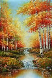 landscape paintings for beginners landscape