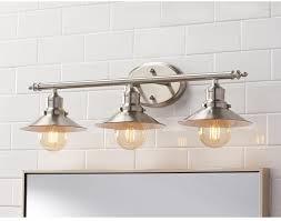 above mirror bathroom lighting 3 light brushed nickel retro vanity light above mirror bath fixture