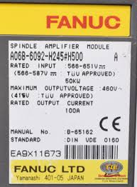 fanuc a06b 6092 h245 h500 or a06b6092h245 ac spindle drive