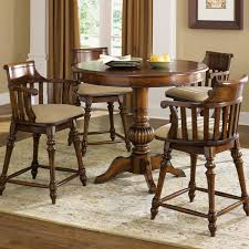 bar table and stools set furniture small round pub sets piece pub