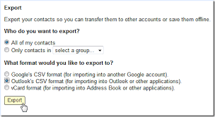csv format outlook import how to import gmail contacts into outlook 2007