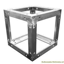 tralicci per radioamatori giunto angolo base e testa per traliccio quadrato 30 x 30 cm