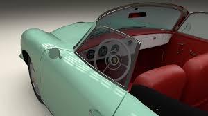 convertible porsche 356 porsche 356 convertible 3d cgtrader