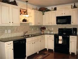 Black Appliances Kitchen Ideas White Kitchen Cabinets Black Appliances Kgmcharters