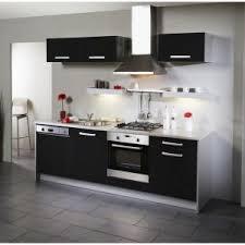 meuble haut cuisine noir laqué cuisine noir brillant best buffet de cuisine cdiscount with