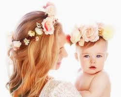 Baby Photoshoot Flower Crowns 1st Birthday Baby Photo Shoot