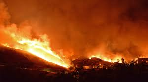 Wildfire In Arizona 2013 by Wildfire In California Is Now 1 700 Acres Closes Highway 101