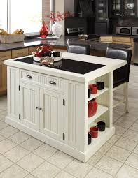 white kitchen island with drop leaf white kitchen island with drop leaf floating rack and bookcase brown