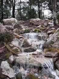 Backyard Pondless Waterfalls by Pondless Waterfall Transforms Backyard In Nh Hometalk