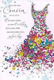 happy birthday quotes cousin traditional birthday card