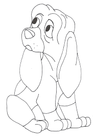 and the hound coloring pages