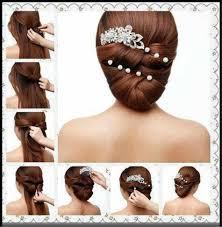 hair juda download hair juda hairstyle for saree step by step tutorial twisted bun diy