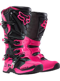 motocross boots for women fox black pink 2018 comp 5 womens mx boot fox freestylextreme