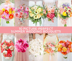 summer wedding bouquets captivating summer flowers for wedding 1000 ideas about summer