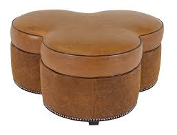 palermo small oval ottoman classic leatherclassic leather