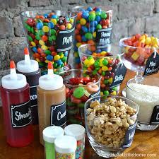 sundae bar toppings diy ice cream sundae bar 11 jpg