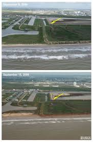 pre and post storm photo comparisons surfside beach to san louis
