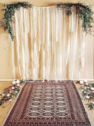 wedding backdrop gallery gallery of past work afghan rugs event production and wren