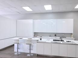 white contemporary kitchen cabinets gloss frameless italian style modern kitchen cabinetry