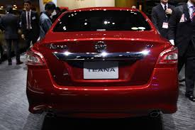 nissan teana 2013 2014 nissan teana rear at 2013 tokyo motor show indian autos blog