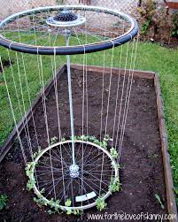 how to make recycled tire garden trellis diy u0026 crafts