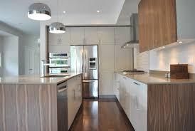 Contemporary Walnut Kitchen Cabinets - kitchen modern neutral normabudden com