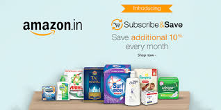 household needs india introduces subscribe save store for your monthly household