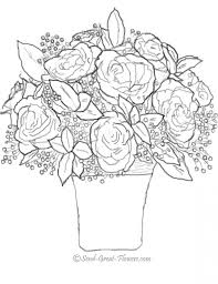 get this free roses coloring pages for adults to print 39122