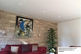 Wohnzimmer Decke Referenzen Plameco Beckmann