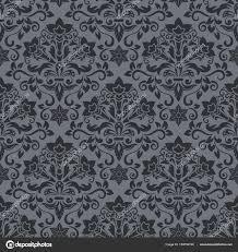dark vintage wallpaper dark vintage wallpaper pattern vector illustration stock vector