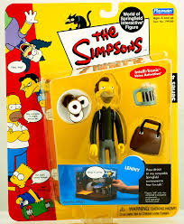 the simpsons amazon com the simpsons series 4 playmates action figure lenny
