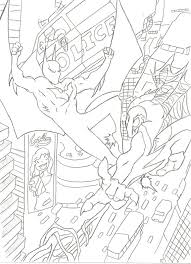 coloring download spider man 2099 coloring pages spider man 2099