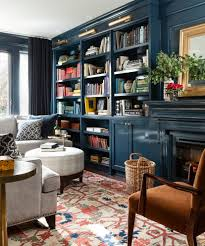 family room with sectional and fireplace toronto high gloss lacquer family room traditional with library