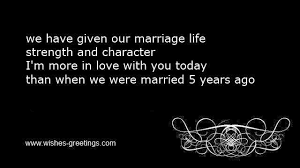 Message To My Husband On Our Wedding Anniversary 5th Wedding Anniversary Quotes And Sayings Invitation Wordings