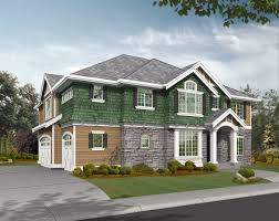 corner lot side entry garage house plans house interior