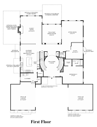 grand staircase floor plans stairs by foyer house plan trgn 0305febf2521