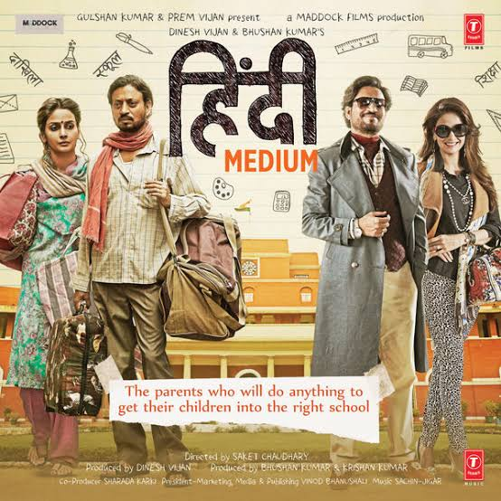 Hindi Medium (2017) Hindi 1CD DVDRip x264 ESubs 700MB